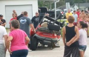 Golf Cart Wreck
